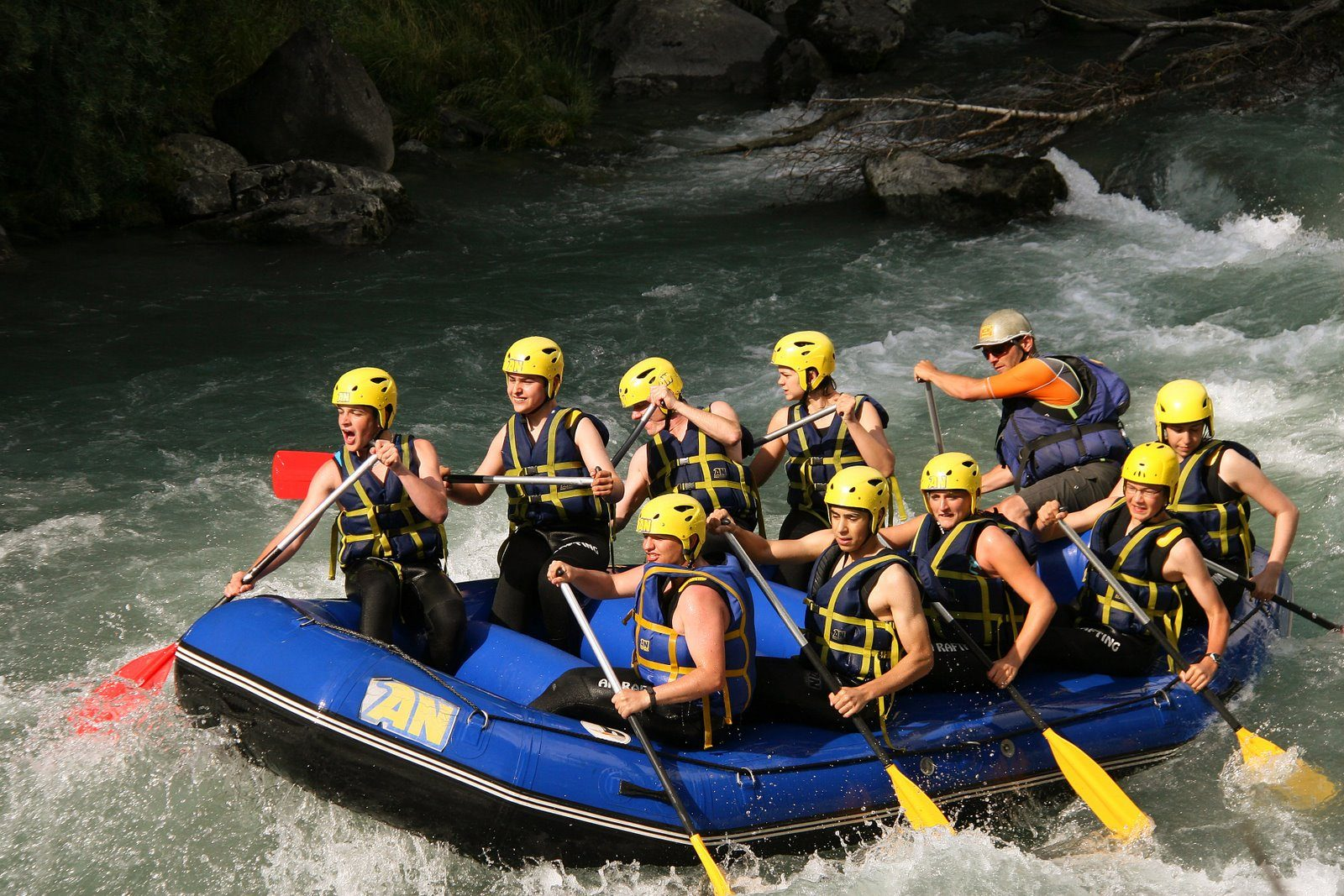 Vacances Colonies Ados Stages Activités Rafting