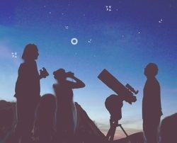 telescope stage astronomie reeves au stage club faistesvacances
