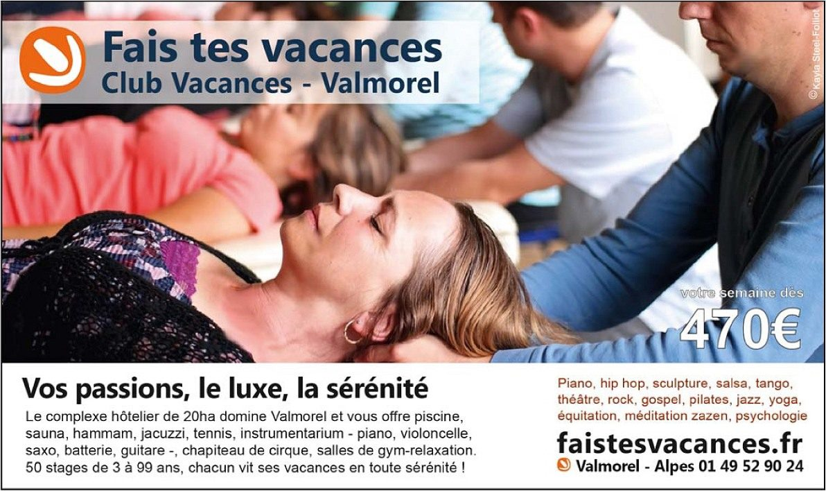 Publicité Faistesvacances psychologies magazine